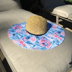 Lilly Pulitzer printed sun hat NWT